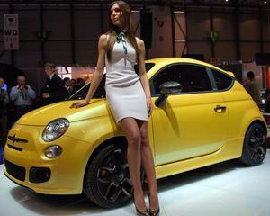 Fiat a surprins la Geneva cu conceptul 500 Coupe Zagato