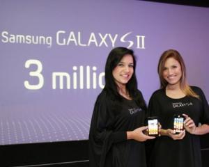 Samsung a vandut 3 milioane de telefoane Galaxy S II in 55 de zile