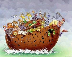 Arca lui Noe din corpul uman