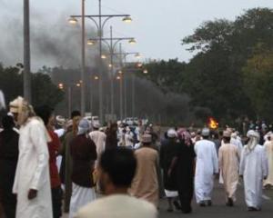 OMAN: Armata incearca sa stopeze protestele. Sase oameni au murit si o persoana a fost ranita