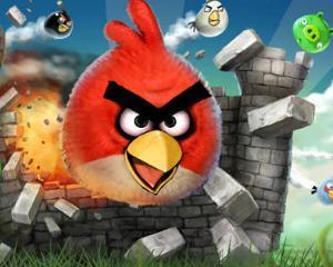 Angry Birds, un joc video transformat in masina de bani