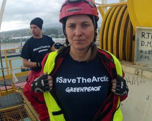 Gazprom, in vizorul Greenpeace