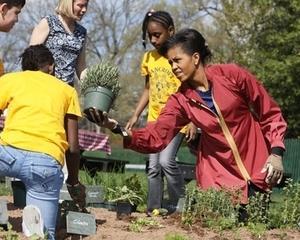 Michelle Obama a pus Casa Alba la regim