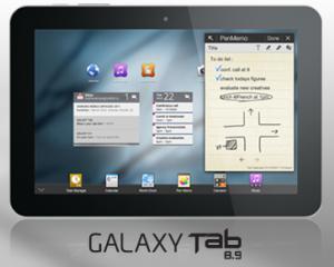 Samsung a prezentat tableta Galaxy Tab cu ecran de 8,9 inci