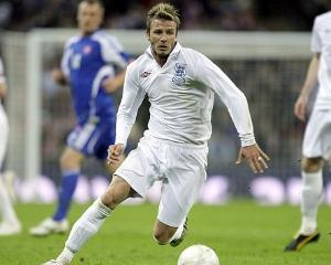 David Beckham, cel mai bine platit fotbalist din lume