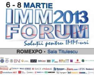 IMM FORUM, intre 06-08 martie 2013