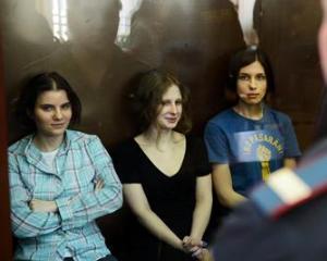 Pussy Riot primeste un premiu pentru pace in inchisoare