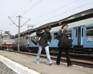Romanii nu sunt mari amatori de calatorii cu trenul. Fac, in medie, trei curse pe an pe