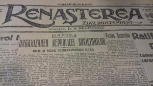 Centenar: Astazi, acum 100 de ani. Cum se vedea Romania in presa de acum un veac (I)