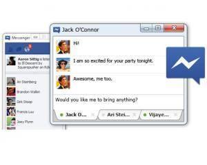 Facebook a lansat Messenger pentru Windows