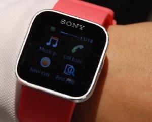Sony SmartWatch, un ceas de mana cu Android