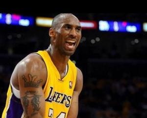Kobe Bryant a fost amendat cu 100.000 de dolari pentru limbaj homofobic