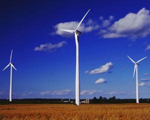 Energia eolienelor ar putea ilumina un oras timp de un an