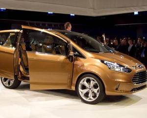 Ford lanseaza in Romania noul model B-Max