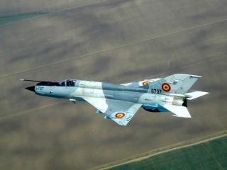 Arhiepiscopia Romanului a primit doua avioane de vanatoare MIG-21