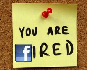 A fost concediata pentru un mesaj scris pe Facebook