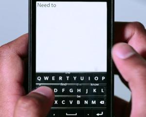 RIM prezinta BlackBerry 10 si renunta la tastatura fizica definitiv
