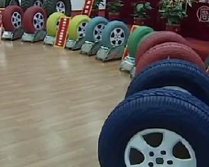 In curand s-ar putea sa vezi aceste cauciucuri colorate din China la magazinul de piese auto din cartier