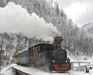 Craciunul si Anul Nou cu Mocanita pe Valea Vaserului