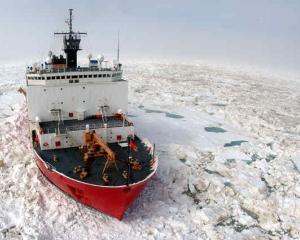 Rusia doreste sa construiasca cel mai mare spargator de gheata din lume