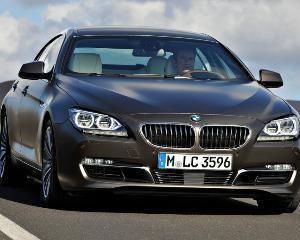 BMW Seria 6 Gran Coupe, de la 67.400 de euro, in Romania