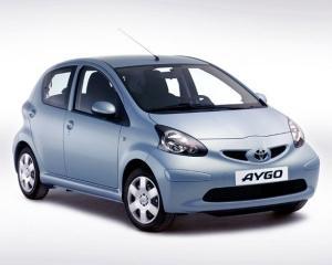 Top 10: Toyota Aygo, cel mai vandut model din clasa mini in Romania in primele doua luni ale anului