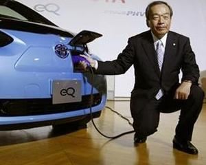 Toyota a renuntat la planurile marete privind modelul electric eQ