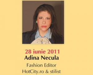 Tinuta business. Invitata: Adina Necula, Fashion Editor HOTCITY.RO & stilist