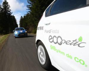 Ford anunta consum de motocicleta pentru noile motoare diesel de pe Fiesta si Focus