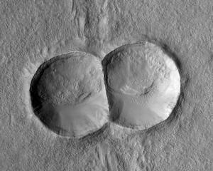 O Marte, ce cratere ciudate ai!