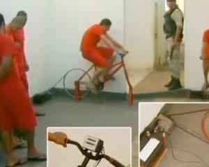INSOLIT: Pedepse reduse pentru detinutii care pedaleaza