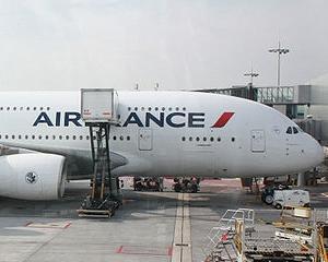 Air France va disponibiliza 5.000 de angajati pana la sfarsitul anului viitor