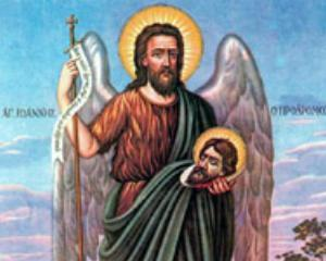 Crestinii sarbatoresc astazi nasterea Sfantului Ioan Botezatorul