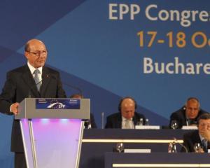 Traian Basescu, la Congresul PPE: Nu ne dorim crearea unui club de categoria a doua in UE