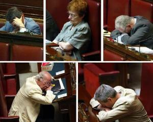 Interdictie pentru cei care tulbura somnul parlamentarilor