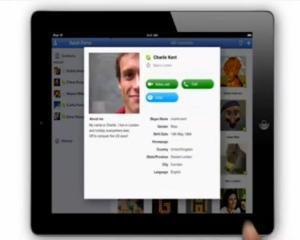 Skype se pregateste sa lanseze o aplicatie dedicata iPad
