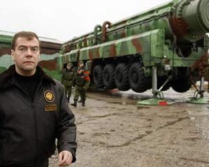 Medvedev: Rusia doreste sa participe la scutul antiracheta al NATO