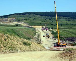 Ministerul Transporturilor incepe supravegherea permanenta a lucrarilor la autostrada Cernavoda - Constanta