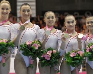 Romania a castigat aurul la Campionatul European de gimnastica