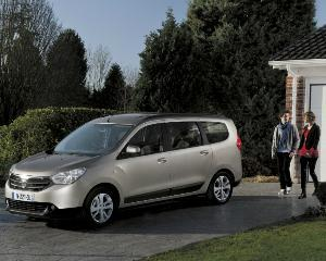 Dacia Lodgy - preturi de la 9.500 de euro cu TVA