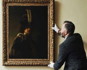 Un autoportret al lui Rembrandt a fost autentificat