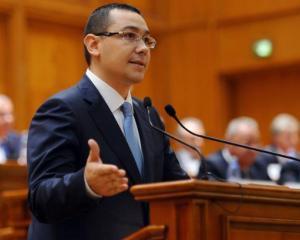 Ponta, huiduit la intalnirea cu oamenii de afaceri germani