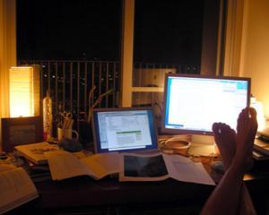 3 motive pentru care NU e bine sa lucrezi de acasa