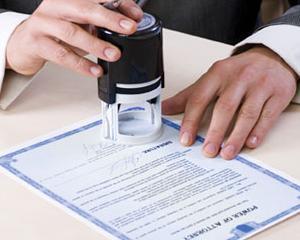 Proiectul legii notarilor a fost adoptat
