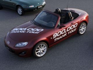 Mazda MX-5, cea mai vanduta masina sport cu doua locuri