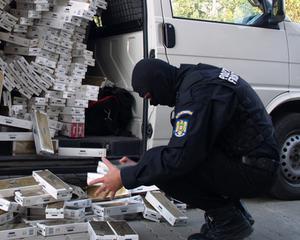 Contrabanda cu tigarete a ajuns la 15% din totalul pietei