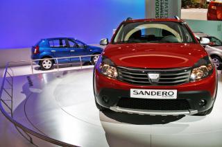 Vanzarile Dacia au urcat cu 12% in 2010. Sandero e cel mai popular model