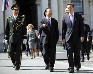 Marea Britanie si China au semnat acorduri de 1,4 miliarde lire sterline