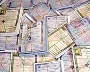 Ministerul Finantelor vrea sa imprumute luni un miliard de lei de la banci