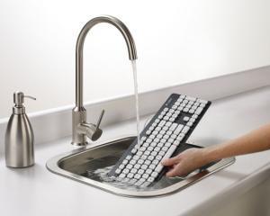 Logitech lanseaza tastatura lavabila
